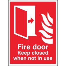 Fire Door - Keep closed when not in use
