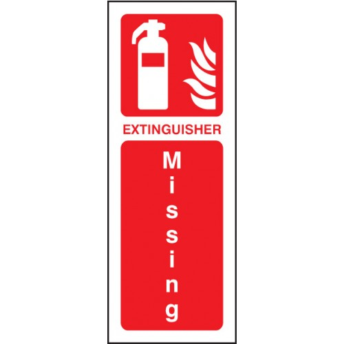 Extinguisher Missing