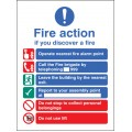 EEC Fire Action (manual Call 999) - Lift in Building