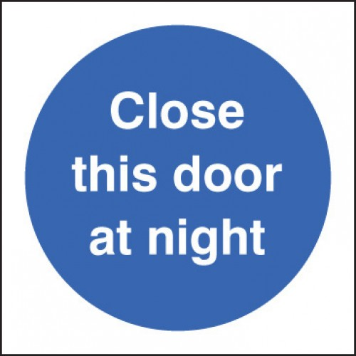 Close this Door At Night