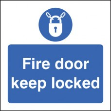 Fire Door - Keep Locked
