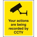 Your Actions Are Being Recorded By CCTV