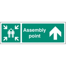 Assembly Point - Arrow Up / Straight On
