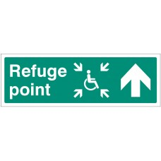 Refuge Point - Arrow Up