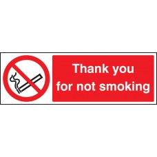 Please Do Not Smoke- Thank You