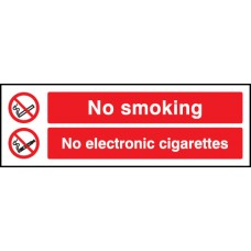 No Smoking - No Electronic Cigarettes