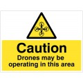 Caution - Drones May Be Operating in this Area