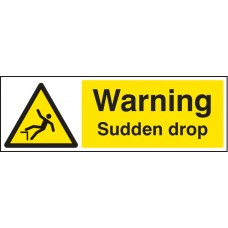 Warning - Sudden Drop