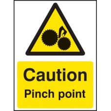 Caution Pinch Point