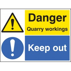 Danger - Quarry Workings Keep Out