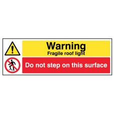 Danger Fragile Roof Light, Do Not Step on this Surface