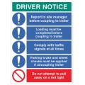 Driver notice Coupling to trailer?