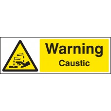 Warning - Caustic