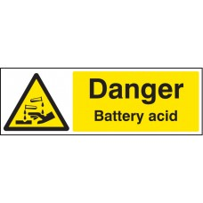 Danger - Battery Acid