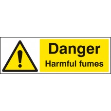 Danger - Harmful Fumes