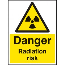Danger - Radiation Risk