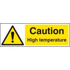 Caution - High Temperature