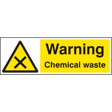 Warning - Chemical Waste