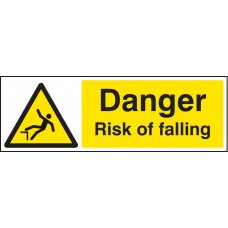 Danger - Risk of Falling