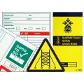 Equipment Inspection Check Books