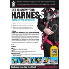 GTG Harness Inspection Poster
