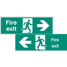 Double Sided Large Fire Exit - Left / Right