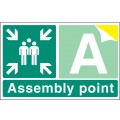 Special Assembly Point - Rigid Plastic - 600 x 400mm