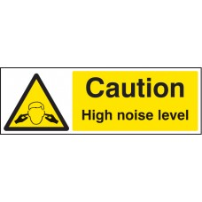 Caution - High Noise Level