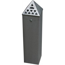 Floor Standing Cigarette Bin (800mm Height) x (200 x 200mm Base)
