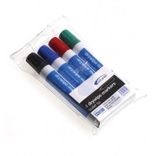 Dry Wipe Markers (Pack of 4 Colours)