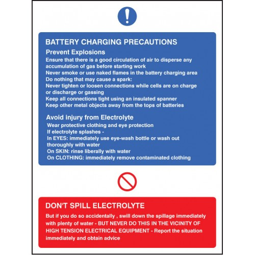 Battery Charging PreCaution -s