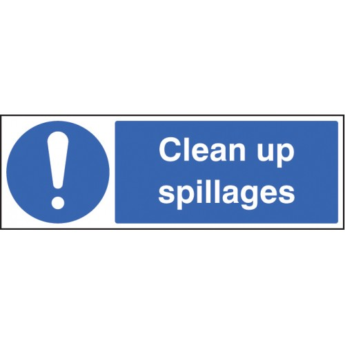 Clean Up Spillages
