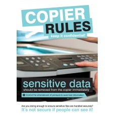 Copier Rules Poster