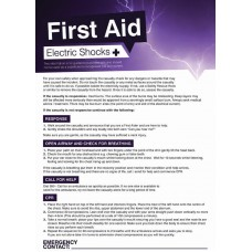 First Aid Shocks Poster - 420 x 594mm