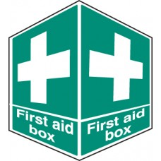 First Aid Box - Projecting Sign