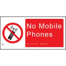 Braille - No Mobile Phones