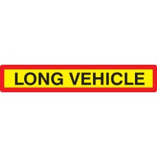 Long Vehicle Panel - Reflective Aluminium - 1265 x 225mm