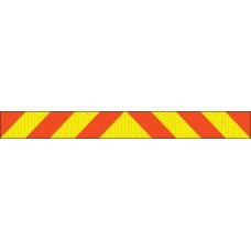 ECE70 Vehicle Marking Plate Chevron - 1200 x 140mm