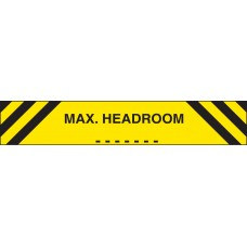 Max Headroom - Reflective Aluminium - 1200 x 150mm