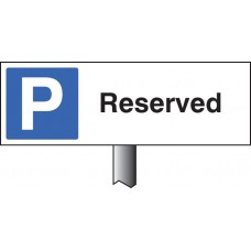 Parking Reserved Verge Sign