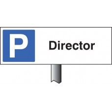 Parking Director Verge Sign