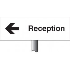 Reception Left Verge Sign