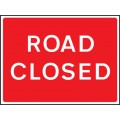 Fold Up Sign - Road Closed - 1050 x 750mm