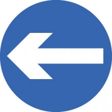 Direction Arrow Left/Right - Class RA1 - 600mm Dia.