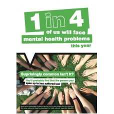 Surprisingly common isn't it? Mental Health Poster