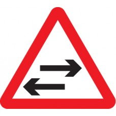 Two Way Traffic Crossing Ahead - Class RA1