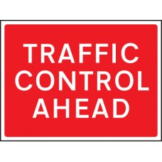 Traffic Control Ahead - Class RA1 - 600 x 450mm