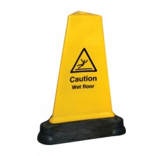 Caution - Wet Floor - Hazard Cone - 500mm - Triangular