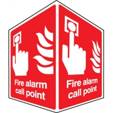 Fire Alarm Call Point - Projecting Sign