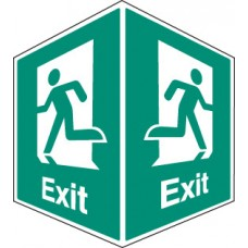 Exit - Projecting Sign